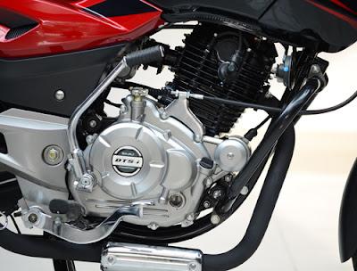 New Bajaj Pulsar 150 engine view