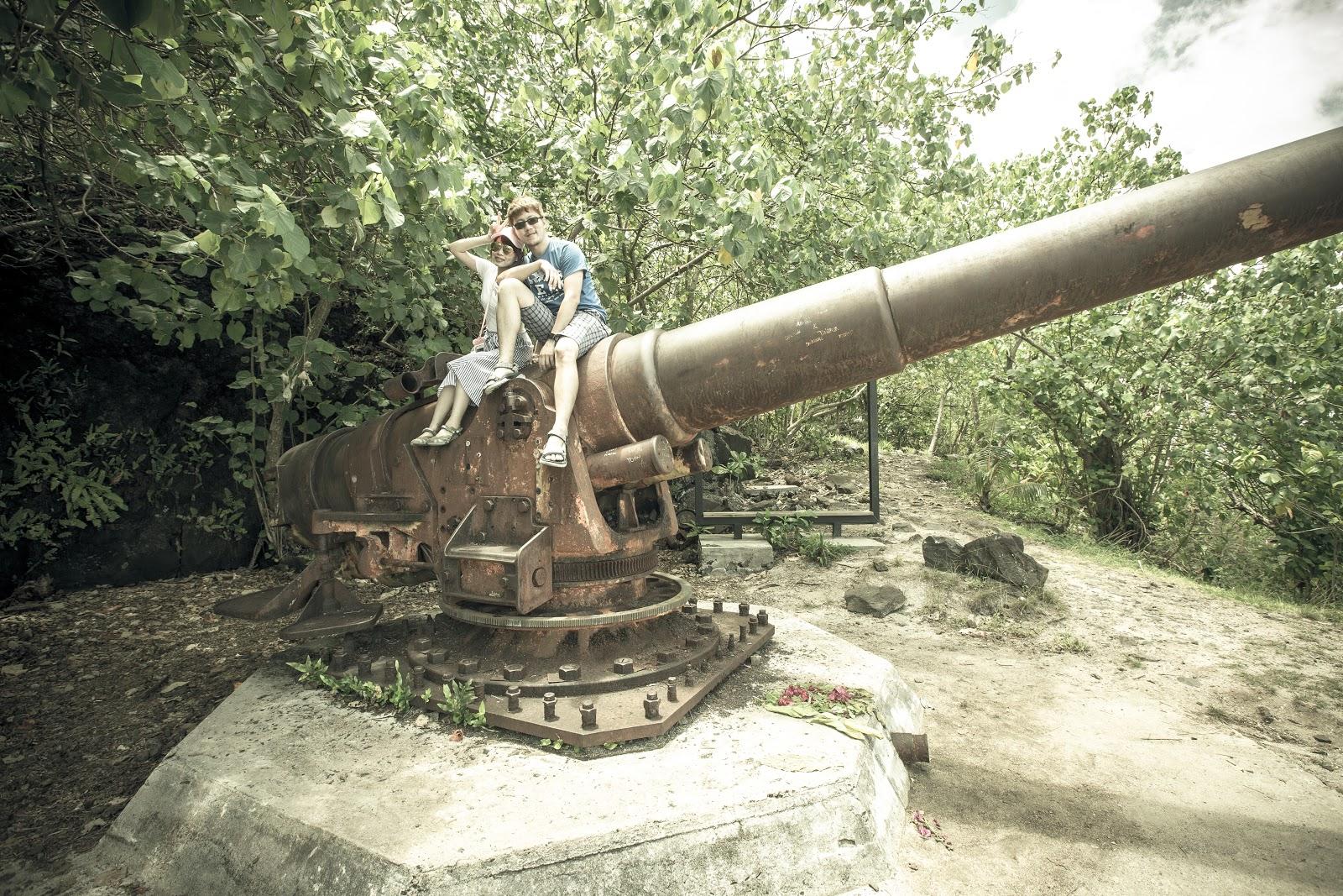 Bora Bora|WWII Guns Faanui