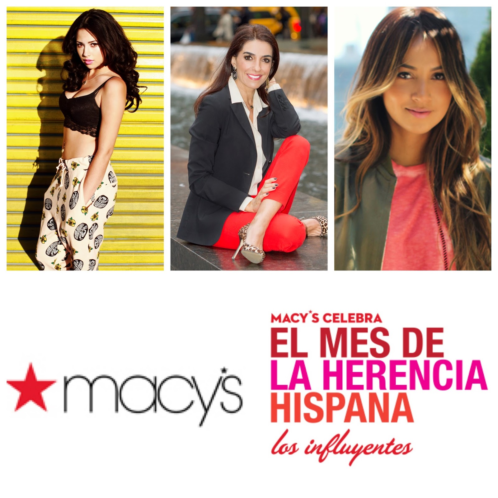 Macy's, Hispanic Heritage Month, Jasmine Villegas, Kika Rocha, Sincerely Jules, #HHM, Westfield Valley Fair, Macy's Fashion Valley, San Diego Fashion