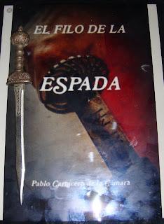 Portada del libro El filo de la espada, de Pablo Carnicero de la Cámara
