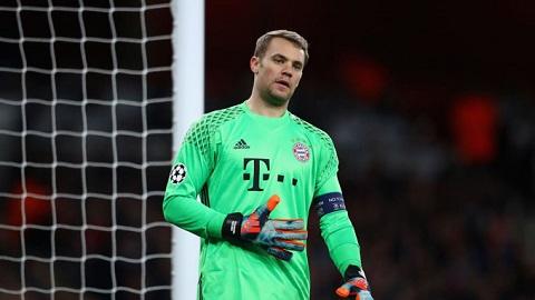 Manuel Neuer đang phải dưỡng thương.