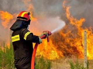 Φωτιές στη Δυτική Ελλάδα: Τα πύρινα μέτωπα έχουν περιοριστεί