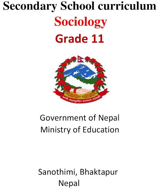 Grade XI NEB Syllabus - Sociology