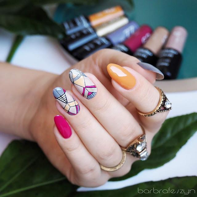 Azteckie paznokcie hybrydowe