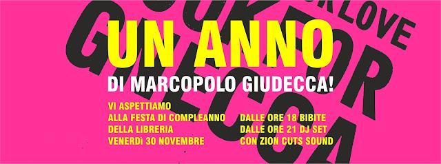 Un anno di MarcoPolo-Giudecca - Venerdì 30 novembre