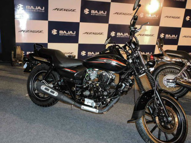 2015 New Launched Bajaj Avenger Street 200 Cruiser