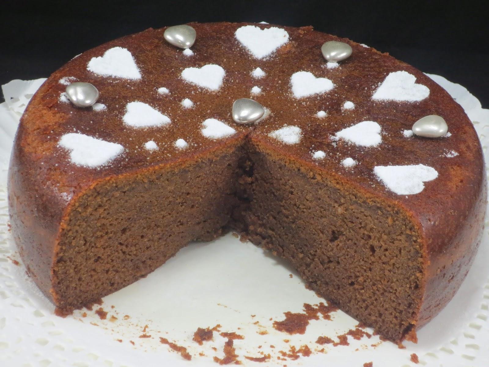 Bizcocho tarta Sacher Ana Sevilla olla GM