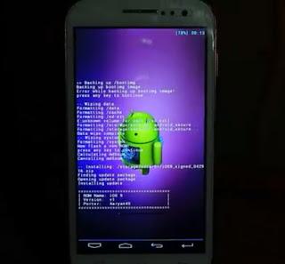 Cara flash android tanpa PC