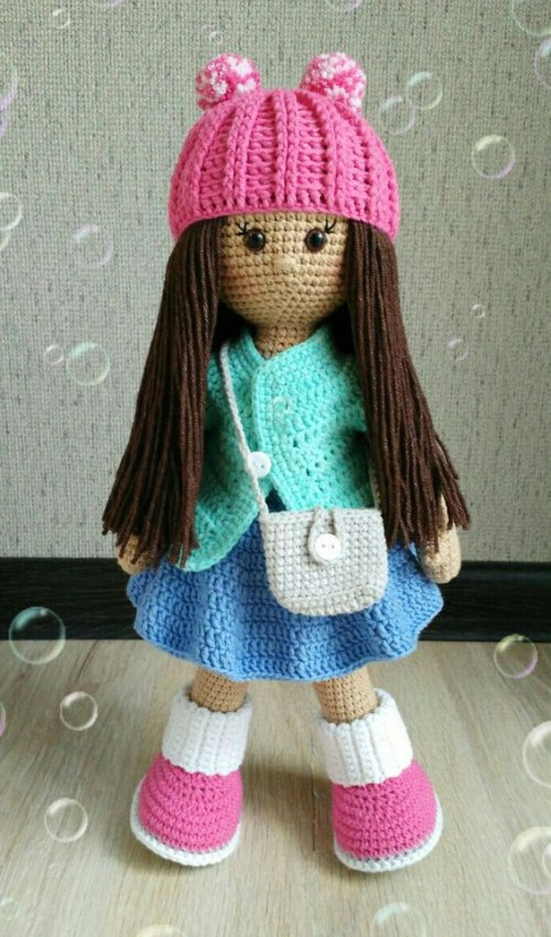 Beautiful Molly Doll - Free Pattern