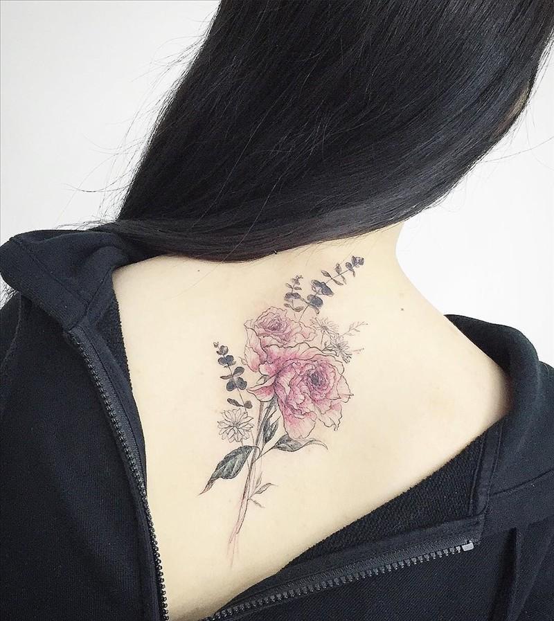 Delicate Flower tattoo from Tattooist