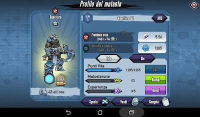 Mutants: Genetic Gladiators Breeding video N°158 (Star Trooper - Warrior)