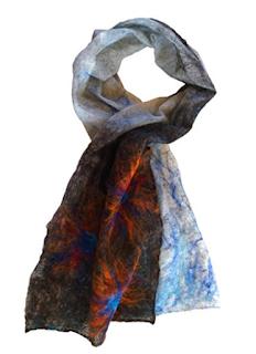 handmade scarf by Mimi Pinto