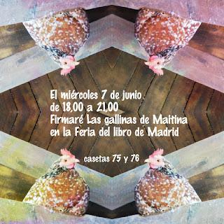 Firmo en la Feria del Libro de Madrid