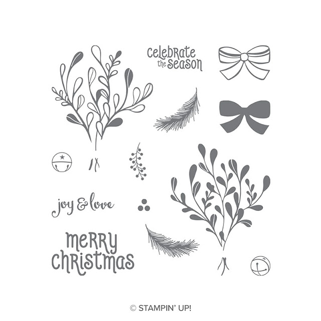 Mistletoe Season Stampin Up