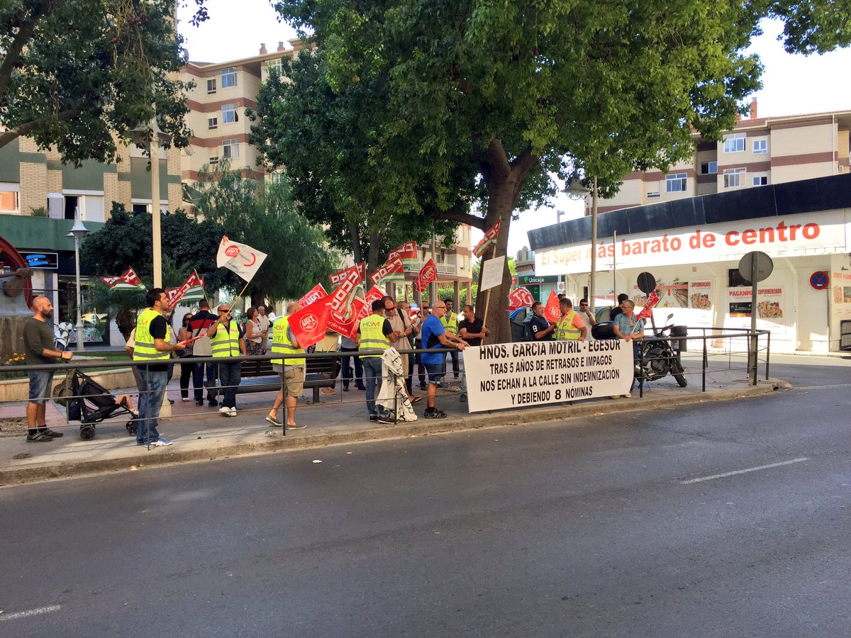 motril digital: Segunda protesta de la plantilla de la empresa ...