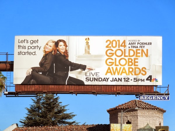 Golden Globe Awards 2014 billboard