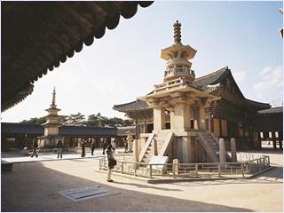เจดีย์โบราณวัดพุลกุกซา (Bulguksa Temple)
