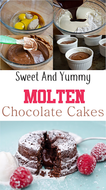 Incredible Molten Chocolate Cakes