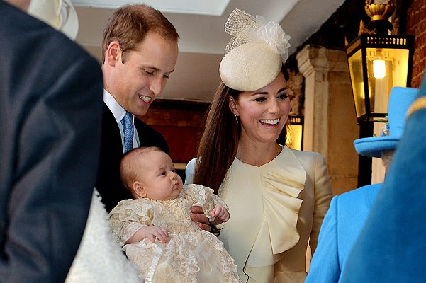 Christening of Prince George first photos