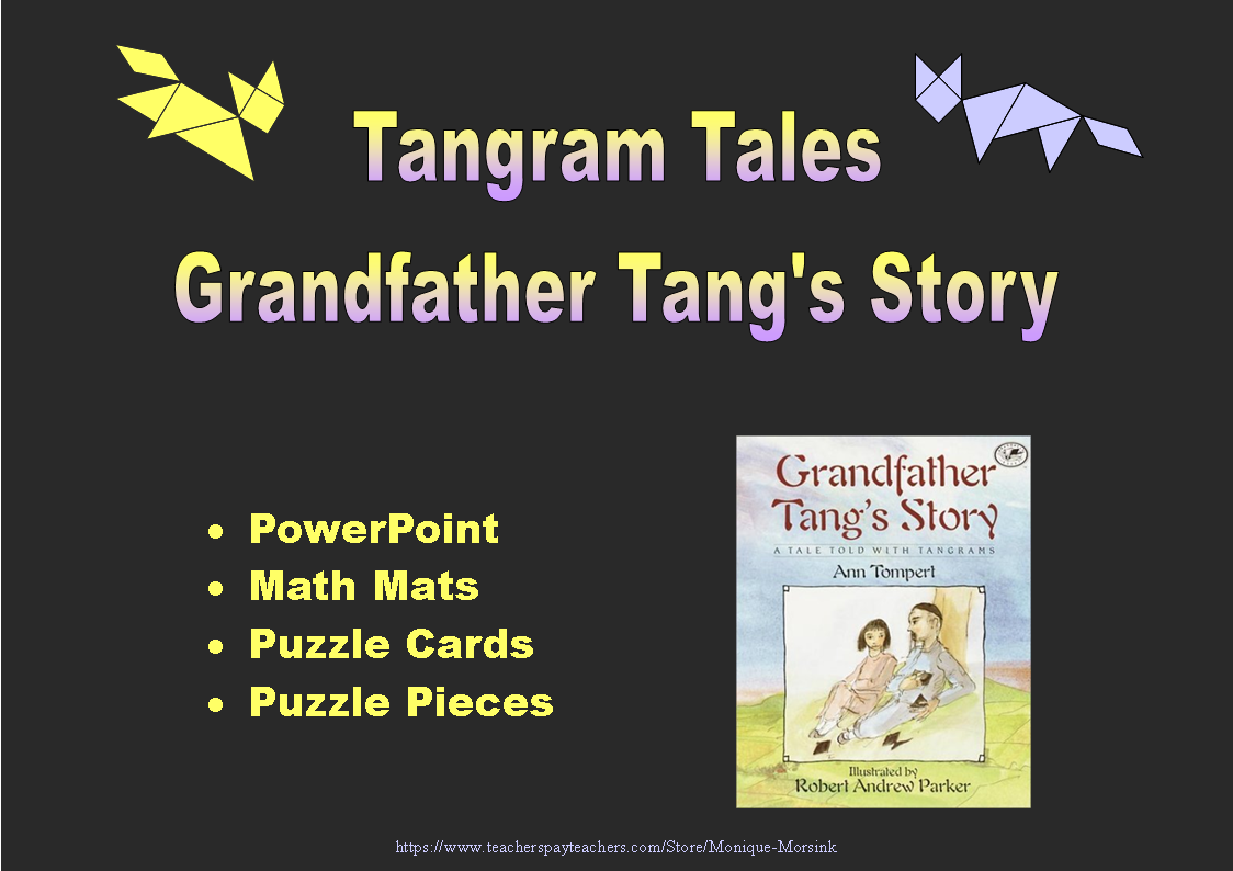 Colorful Tangrams Grandfather Tang S Story