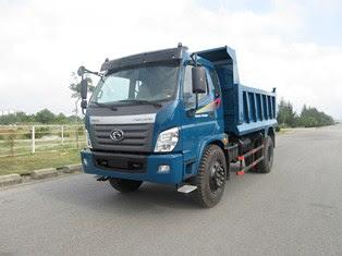 Xe ben Thaco FD9500 tải 9 tấn thiết kế mở bửng tại Trọng Thiện