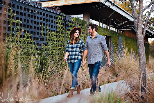 Stylish engagement session in South Austin // Cassie + Mark at McKinney Falls & South First