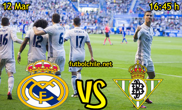 Ver stream hd youtube facebook movil android ios iphone table ipad windows mac linux resultado en vivo, online: Real Madrid vs Real Betis