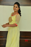 Teja Reddy in Anarkali Dress at Javed Habib Salon launch ~  Exclusive Galleries 017.jpg