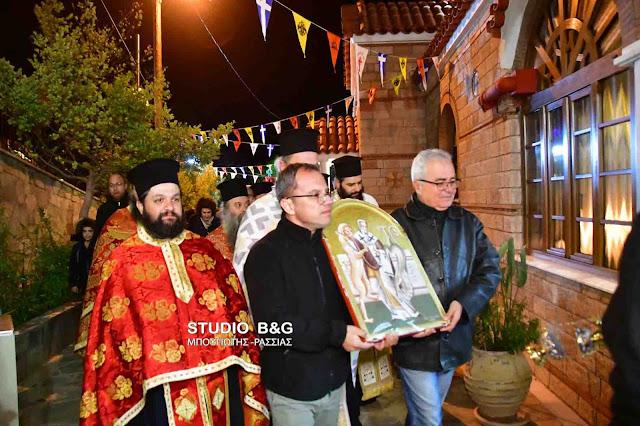Γιόρτασαν τον Άγιο Ιγνάτιο στην Ζόγκα Ελληνικού στην Αργολίδα (βίντεο)