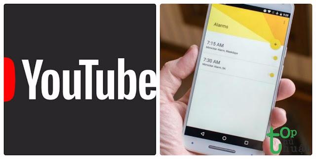 Hướng dẫn cài đặt báo thức bằng Video Youtube cực thú vị