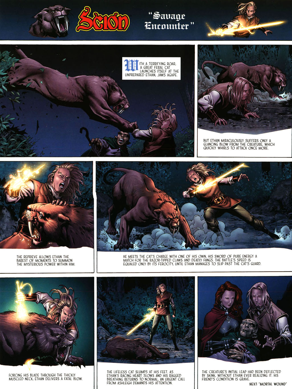 Read online Scion comic -  Issue #39 - 7