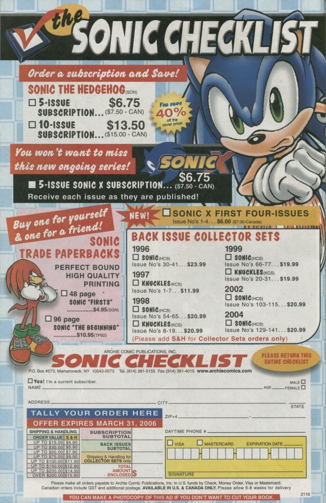 Read online Sonic The Hedgehog comic -  Issue #158 - 34