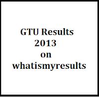 GTU Exam Results