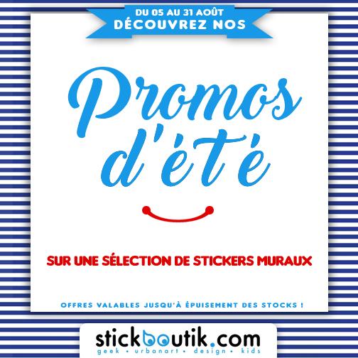 Stickboutik.com - Promos d'été sur nos stickers muraux