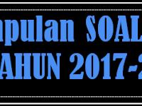KISI-KISI DAN BANK SOAL UAS SD KELAS 6 SEMESTER 1 2017-2018