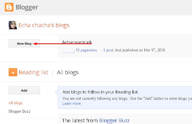 Cara Membuat Blog Gratis Langsung Daftar Google Adsense