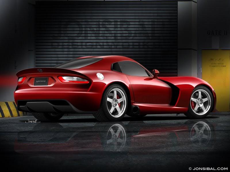 New Dodge Viper Rendering By Jonsibal Ebeasts Com