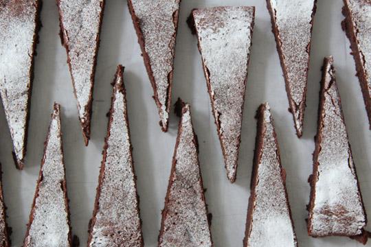 schokoladentarte (fast ohne mehl) I fräulein text
