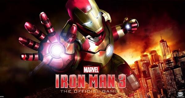 Game Resmi Iron Man 3 Dirilis Gratis di Google Play Store