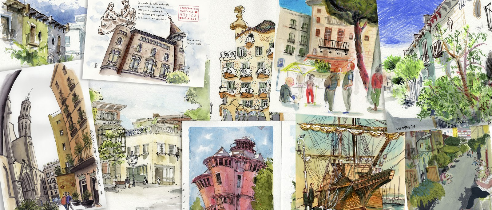 Urban Sketchers Paris: janvier 2019