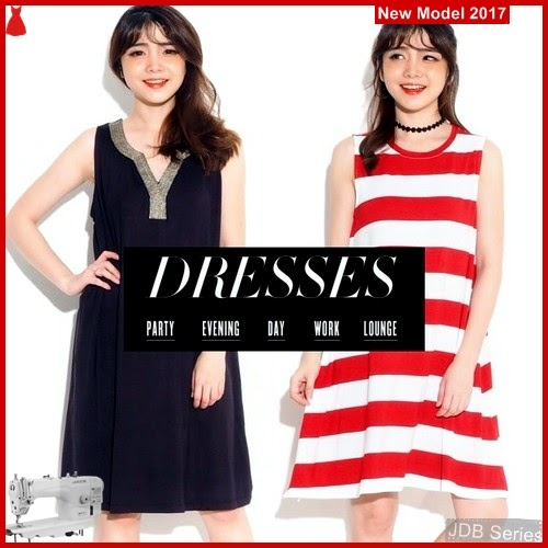 JDB124 FASHION Casual Cato Perempuan Dress BMG
