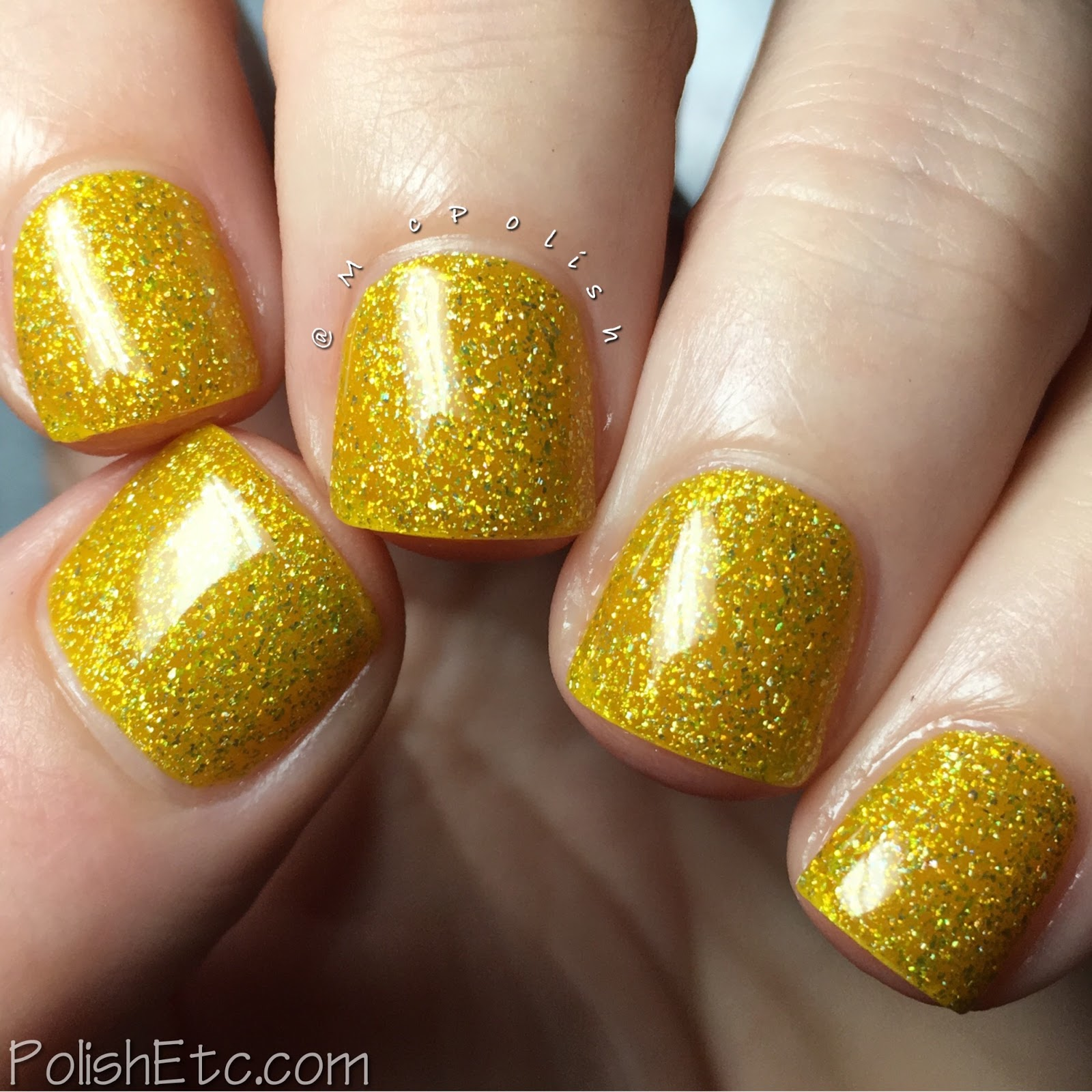 Nine Zero Lacquer - Extreme Weather Collection - McPolish - Lightening