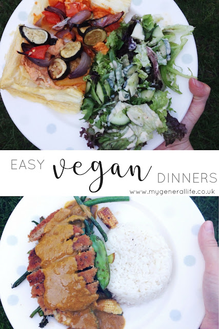 Easy Vegan Dinners | My General Life - let's talk easy vegan dinners, click to read more!