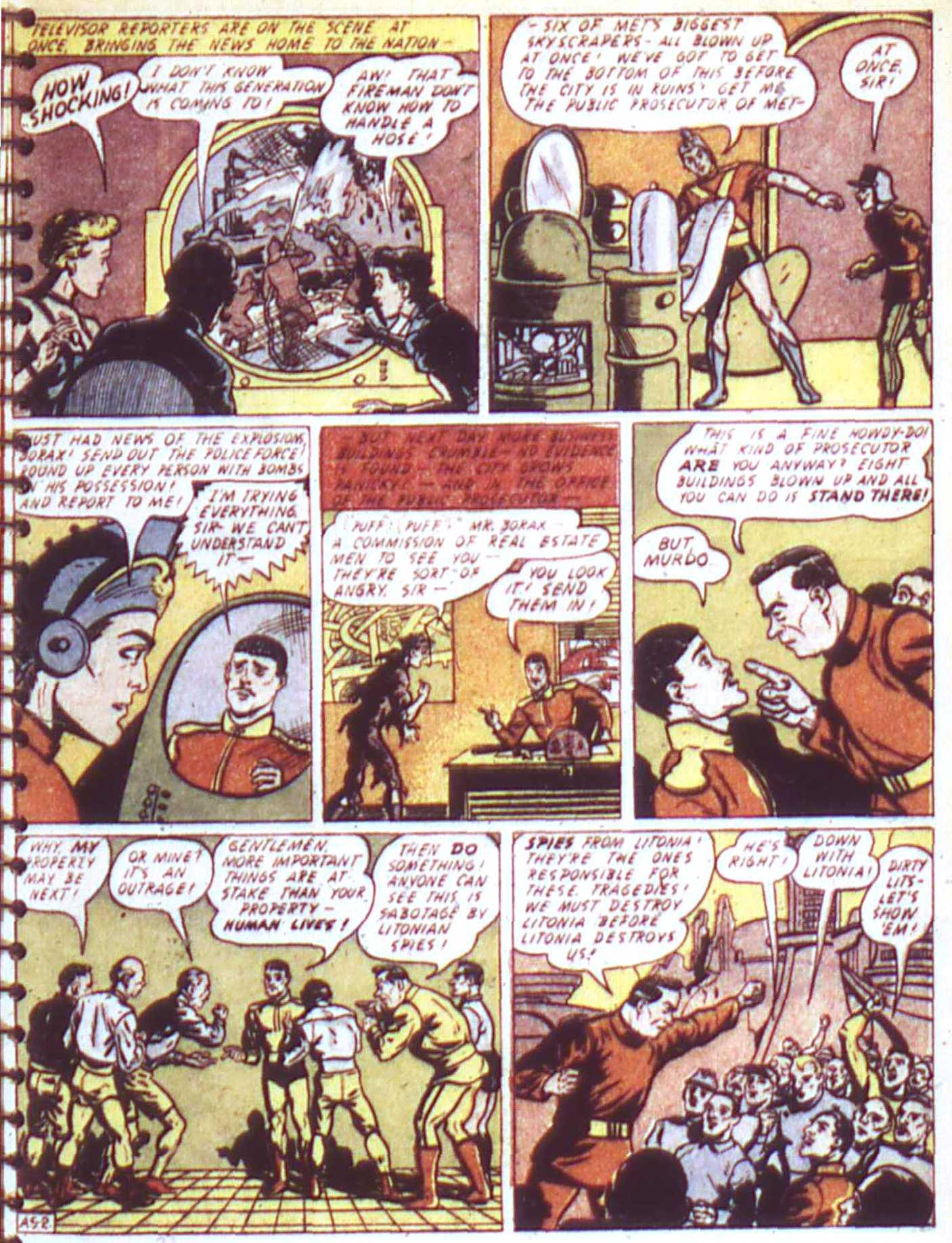 Read online All-American Comics (1939) comic -  Issue #17 - 29