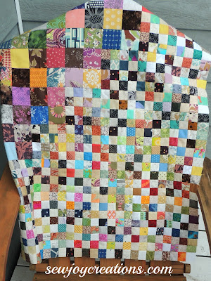 scrap quilt pieced patchwork