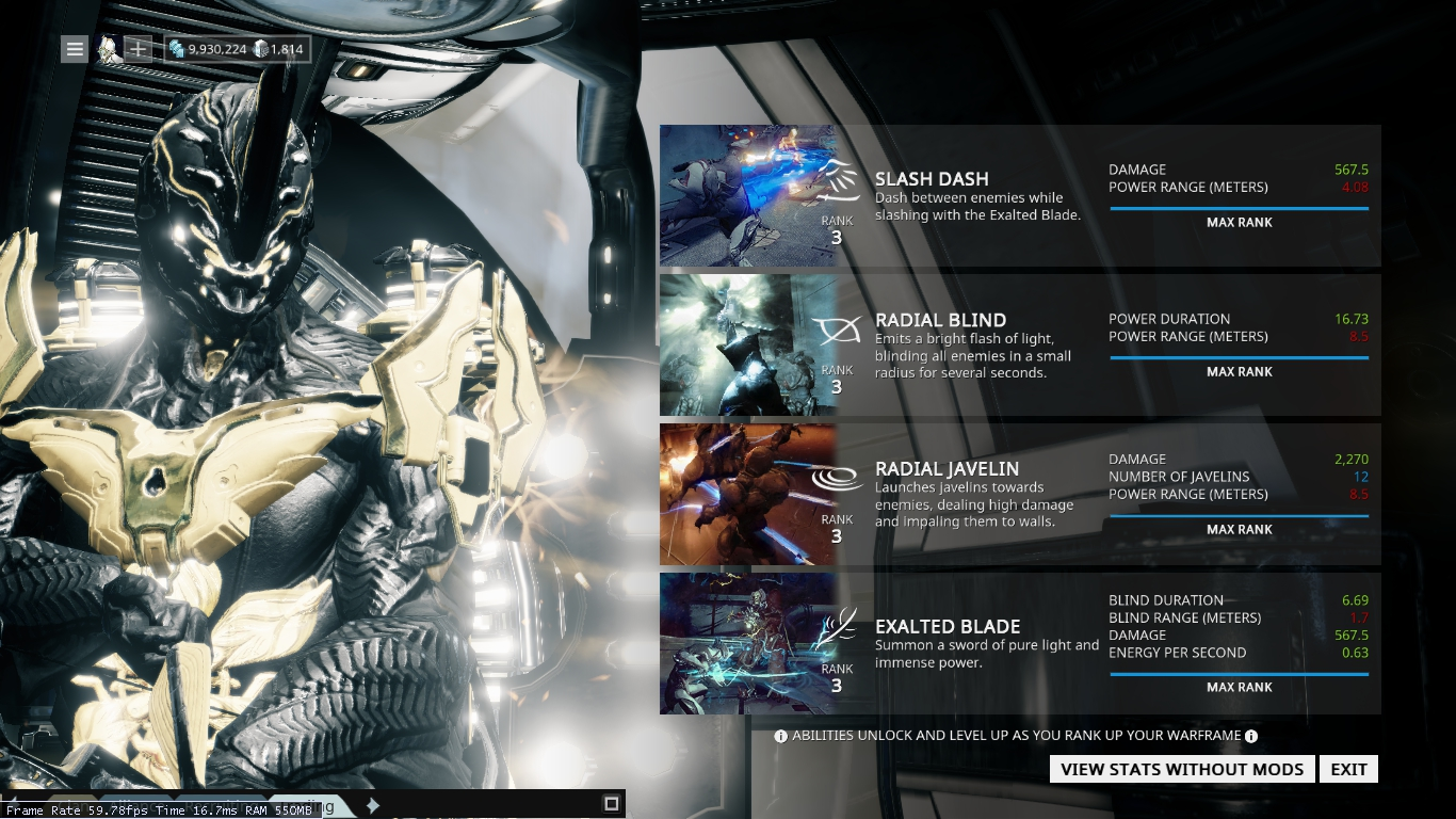 warframe chronicles   guide  understanding the efficiency