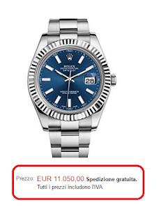 Nuovo Rolex Datejust II in acciaio inox e 18 K oro bianco blu quadrante mens orologio 116334 Blio by Rolex