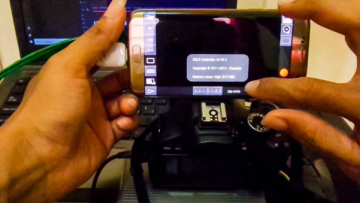 Menggunakan Tablet or Smartphone Untuk Layar DSLR dan Remote