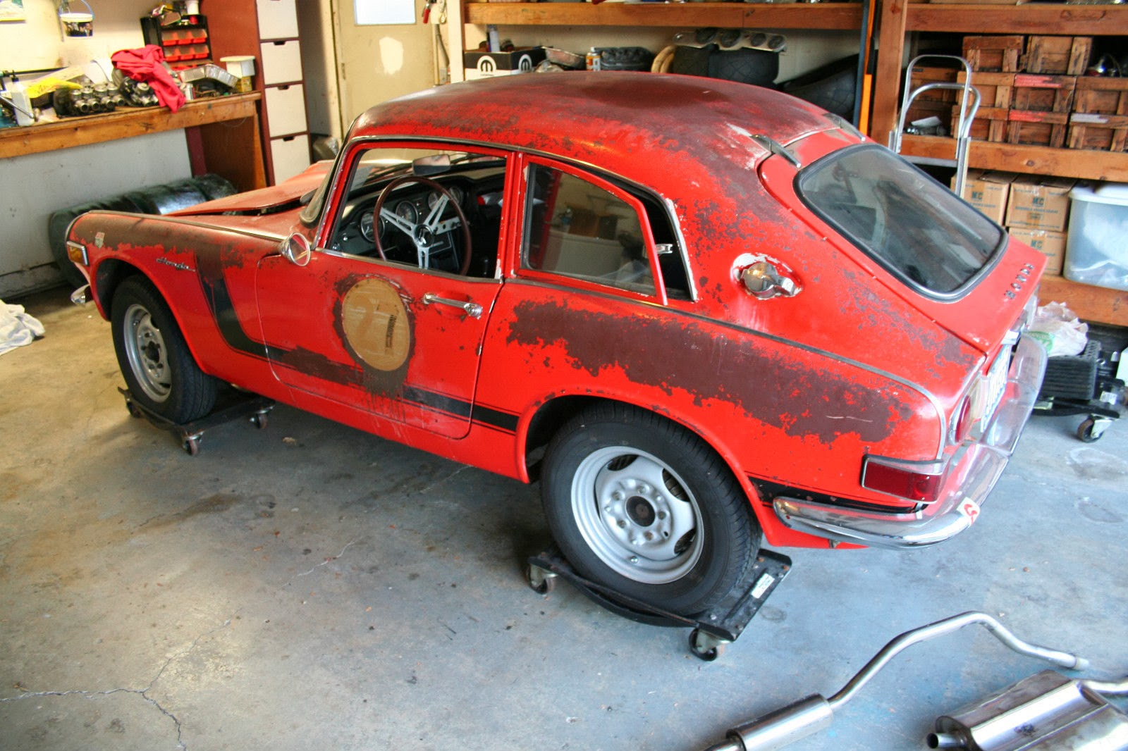 honda s800 coupe previously sighted and now for sale. Black Bedroom Furniture Sets. Home Design Ideas