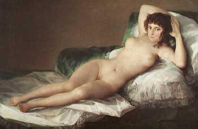 Naked Maja Goya 46